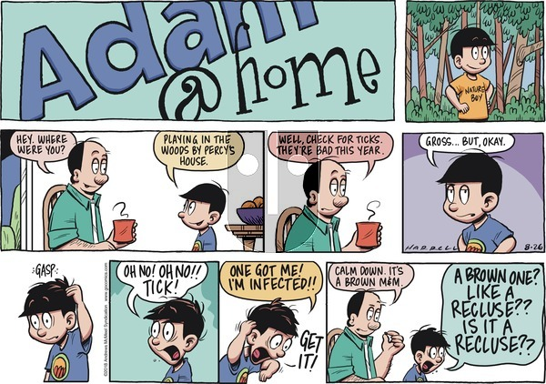 Adam@Home on Sunday August 26, 2018 Comic Strip