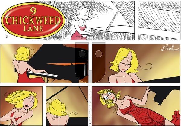 9 Chickweed Lane on September 9, 2018 Comic Strip