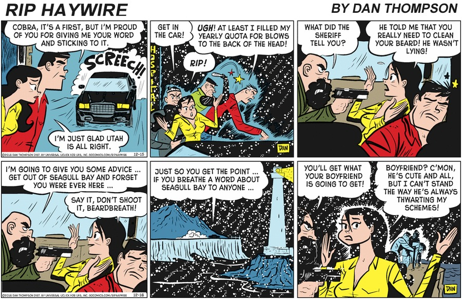 Rip Haywire Comic Strip for March 29, 2020