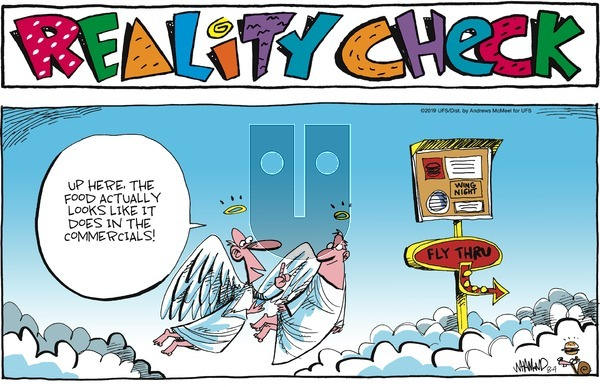 Reality Check on Sunday August 4, 2019 Comic Strip