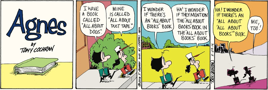 Agnes Comic Strip for May 29, 2016