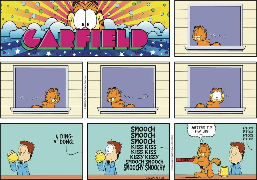 Garfield Comic Strip for May 23, 2021