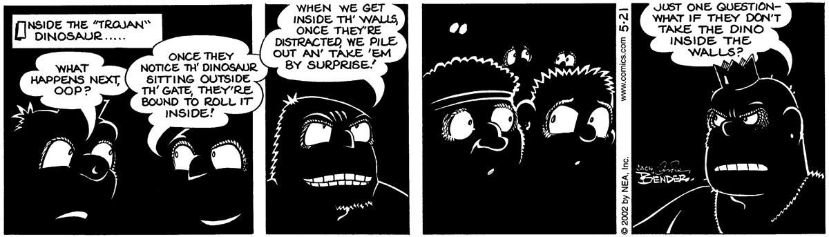 Alley Oop for May 21, 2002 Comic Strip