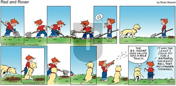 Red and Rover on Sunday June 7, 2020 Comic Strip