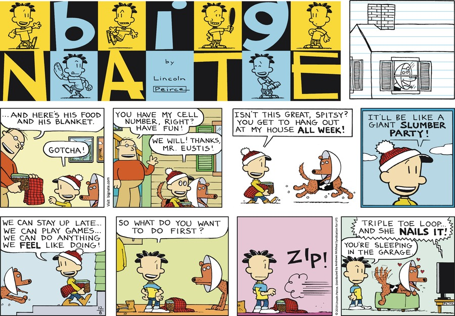 Big Nate Comic Strip for December 08, 2019