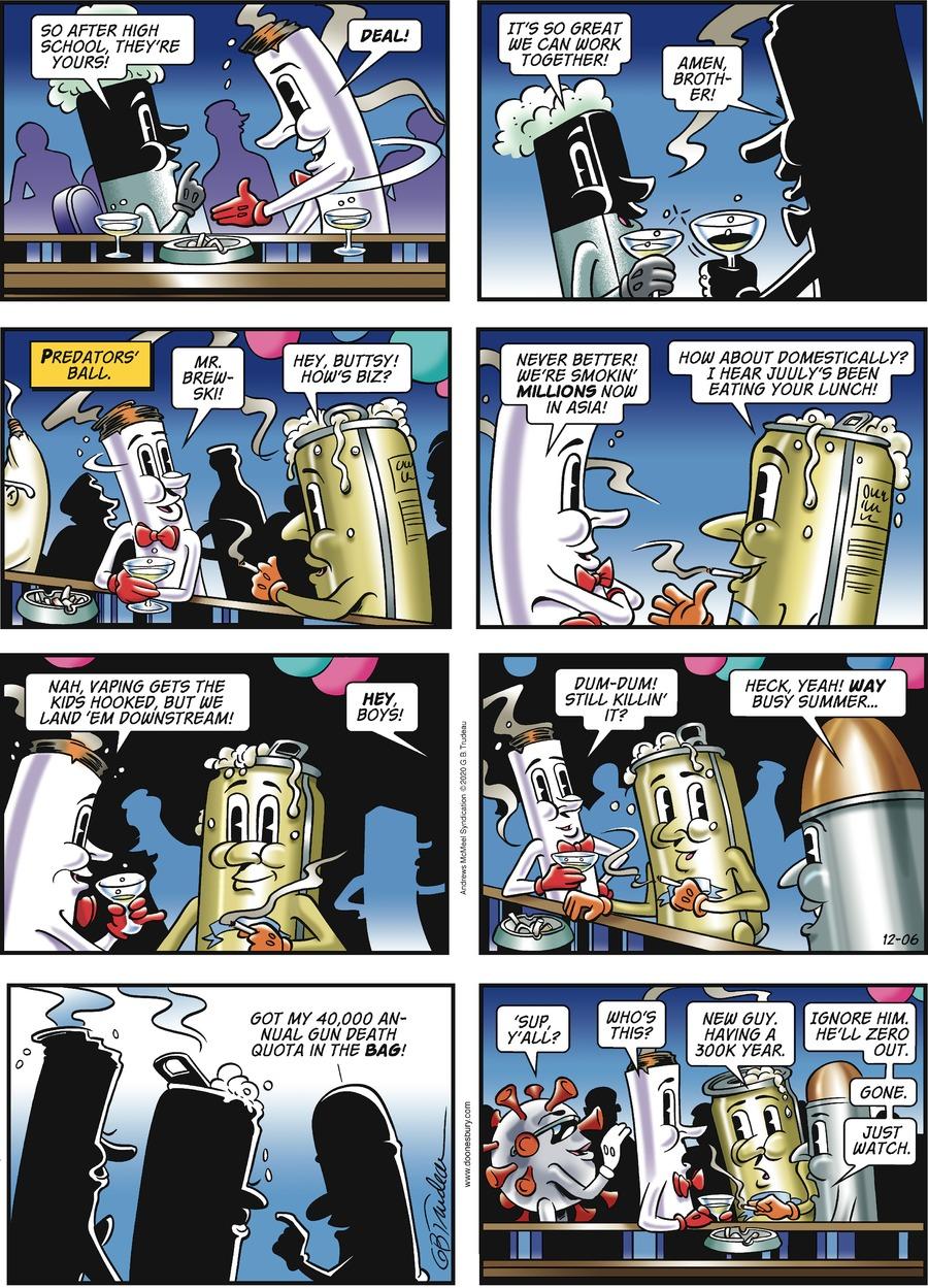 Doonesbury Comic Strip for December 06, 2020