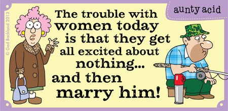 Aunty Acid for Aug 17, 2013 Comic Strip