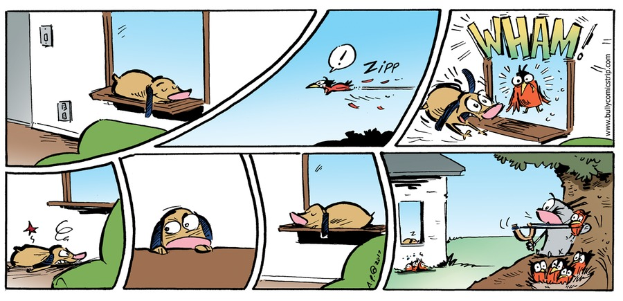 Bully Comic Strip for May 21, 2017
