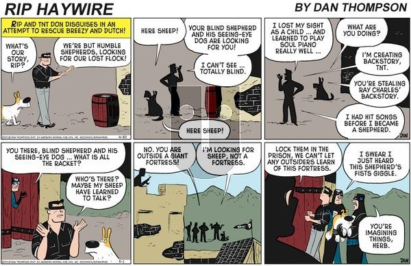 Rip Haywire on Sunday August 23, 2020 Comic Strip