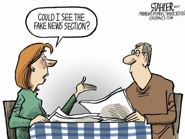 Jeff Stahler Comic Strip for January 15, 2017