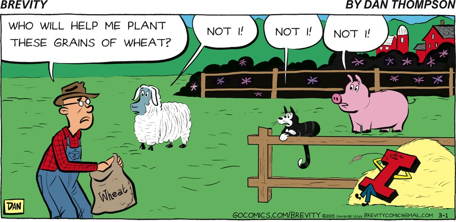 Brevity Comic Strip for March 01, 2015