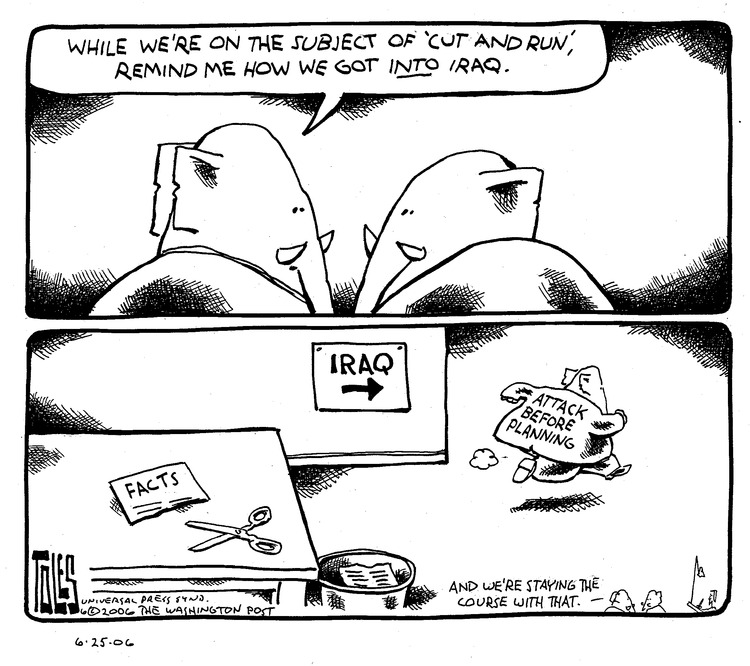 Tom Toles Comic Strip for June 25, 2006