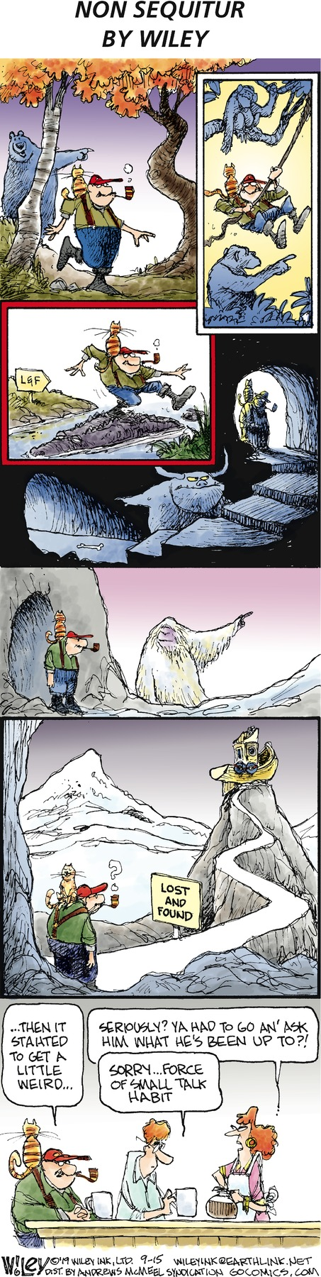 Non Sequitur by Wiley Miller for September 15, 2019