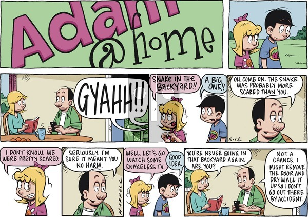 Adam@Home on Sunday May 16, 2021 Comic Strip