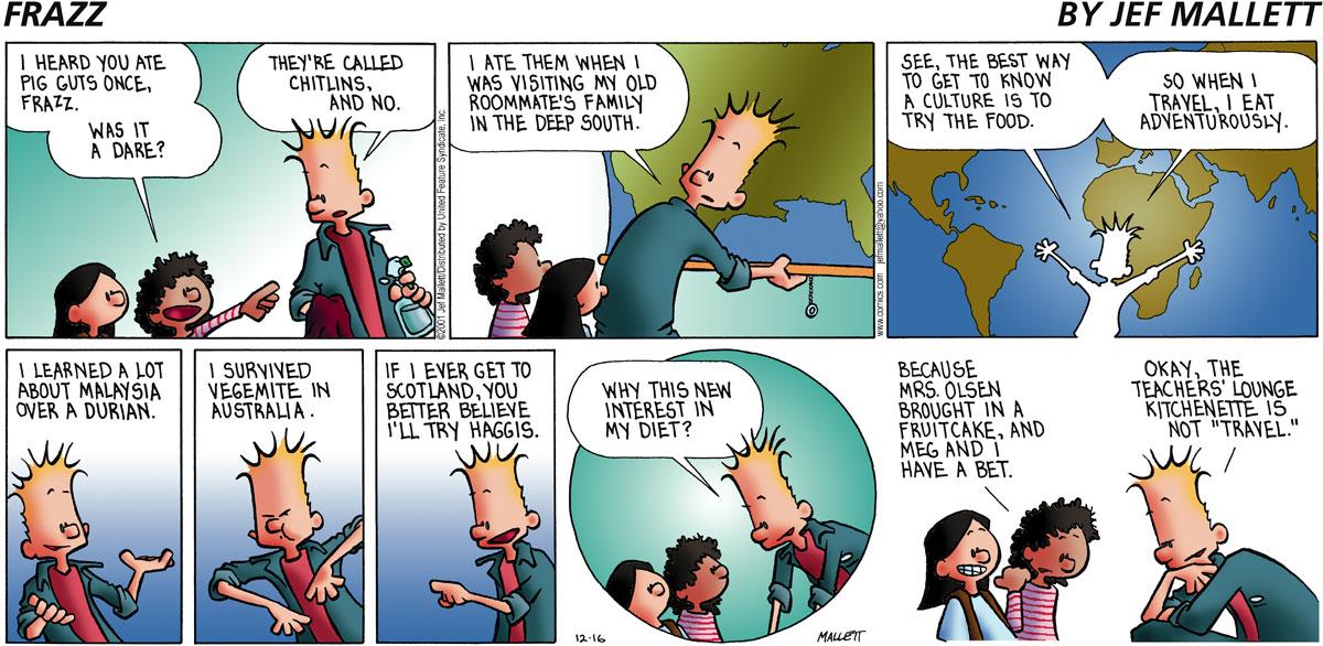 Frazz for Dec 16, 2001 Comic Strip