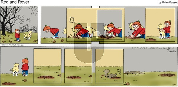 Red and Rover - Sunday November 24, 2019 Comic Strip