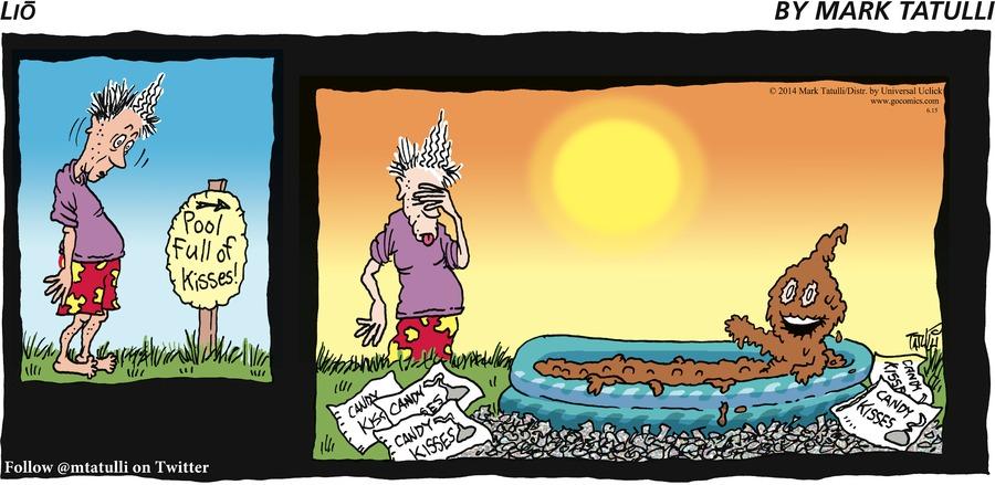 Lio Comic Strip for June 15, 2014