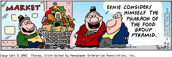 Frank and Ernest for Jul 11, 2002 Comic Strip