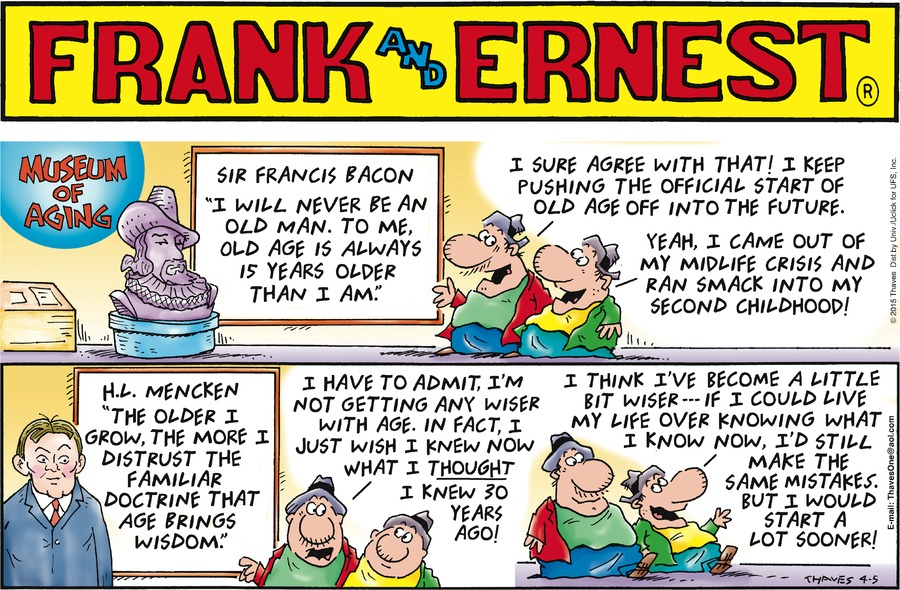 Frank and Ernest Comic Strip for April 05, 2015