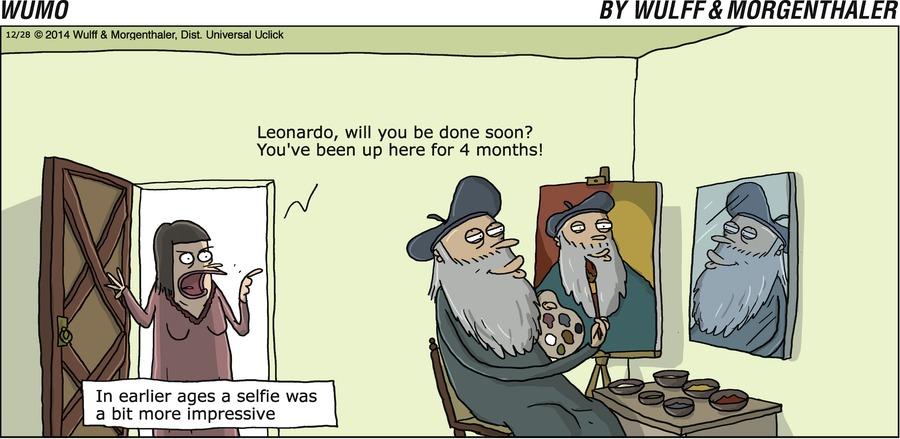 WuMo for Dec 28, 2014 Comic Strip