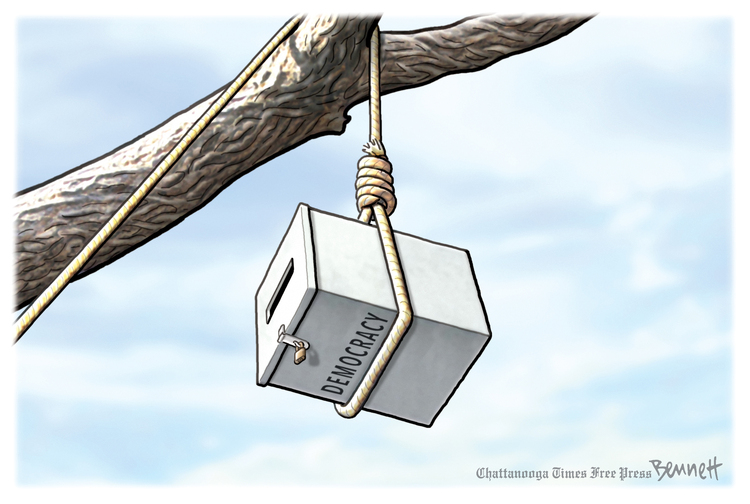 Clay Bennett Comic Strip for March 31, 2021