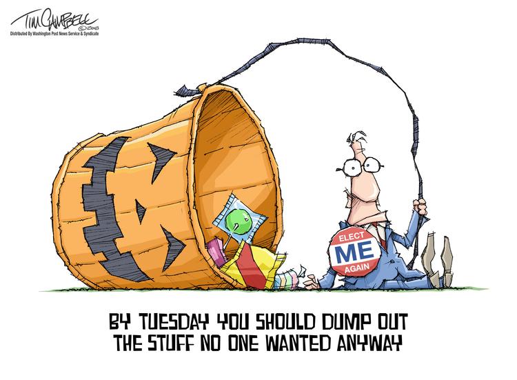 Tim Campbell Comic Strip for November 04, 2018
