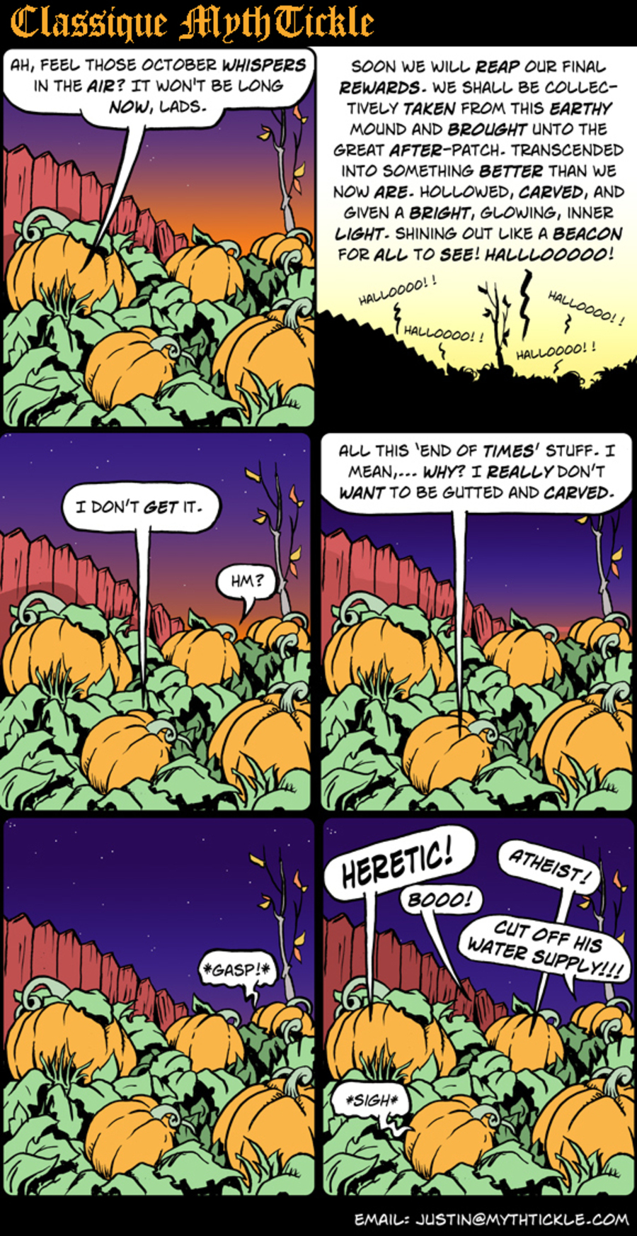 MythTickle Comic Strip for October 26, 2012