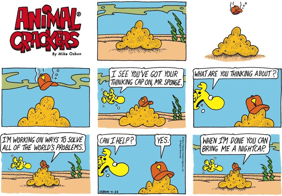 Animal Crackers by Mike Osbun on Sun, 25 Apr 2021