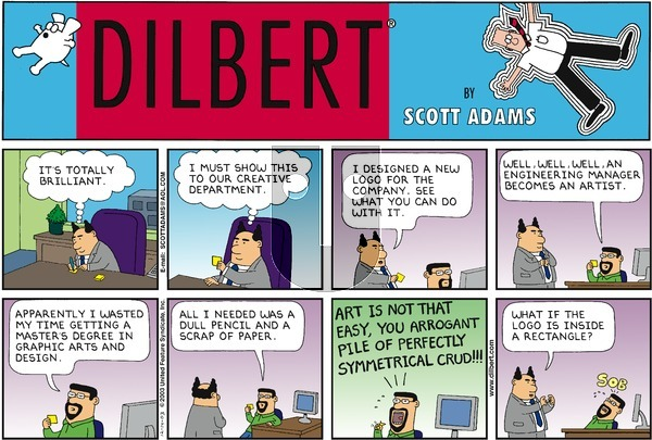 Dilbert - Sunday December 14, 2003 Comic Strip