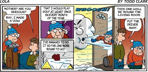 Lola - Sunday December 29, 2019 Comic Strip