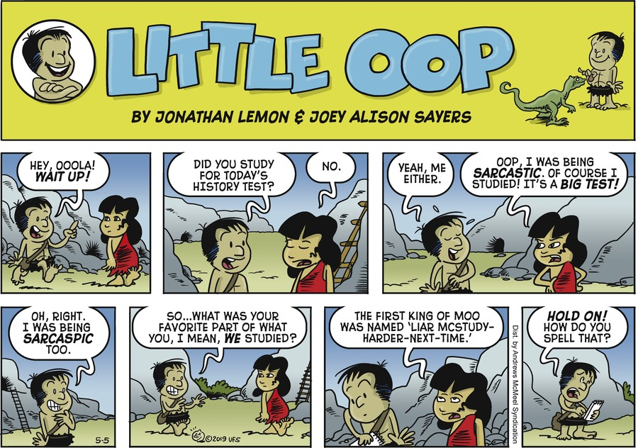 Alley Oop by Jonathan Lemon and Joey Alison Sayers for May 05, 2019