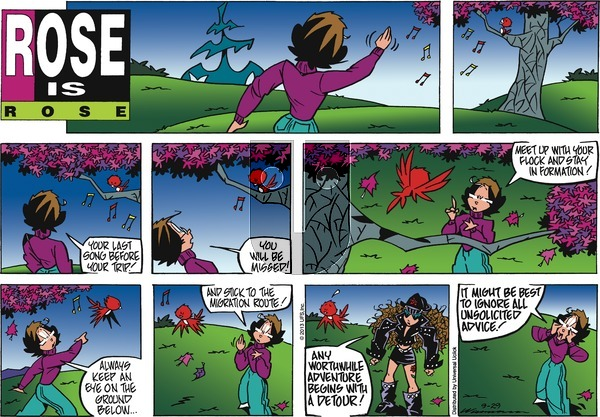 Rose is Rose on Sunday September 29, 2013 Comic Strip