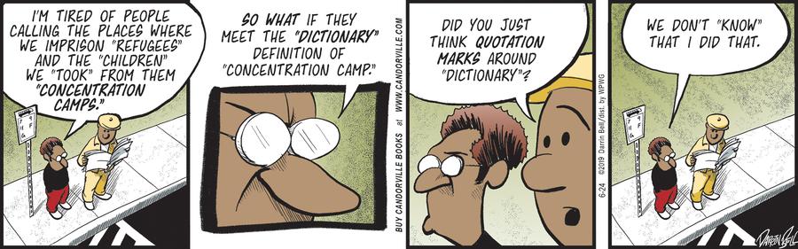 Candorville Comic Strip for June 24, 2019