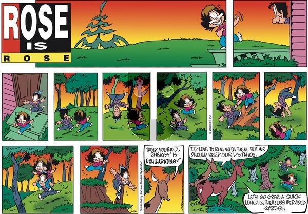 Rose is Rose - Sunday July 12, 2020 Comic Strip