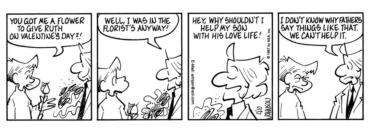 Arlo and Janis for Feb 10, 1997 Comic Strip