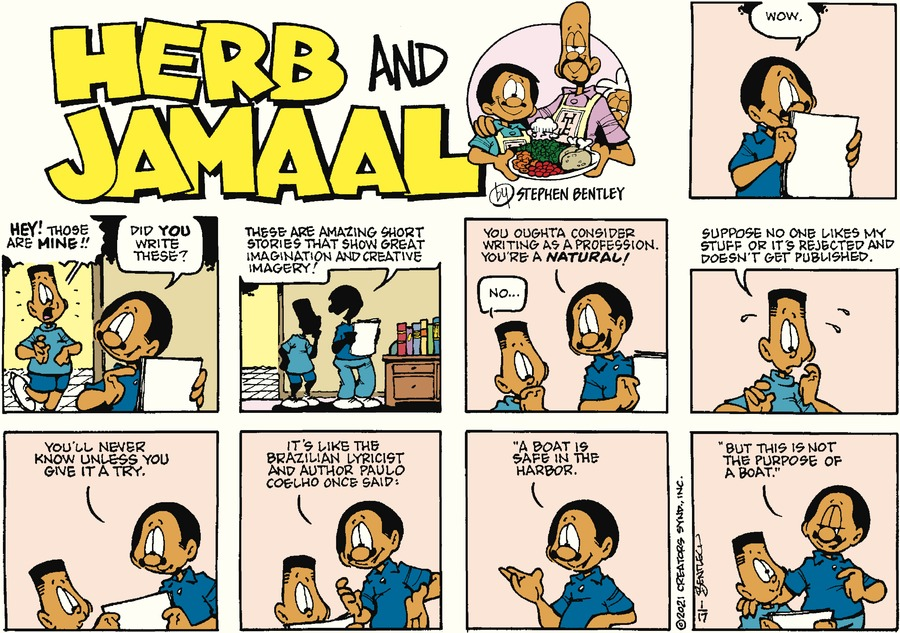 Herb and Jamaal Comic Strip for January 17, 2021