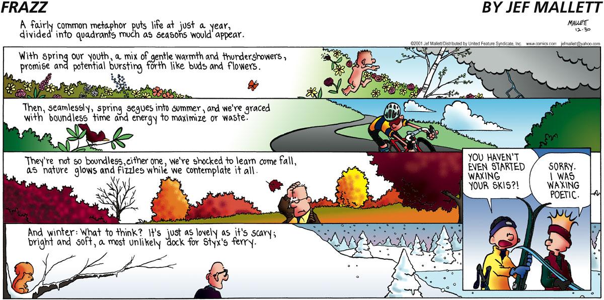 Frazz for Dec 30, 2001 Comic Strip