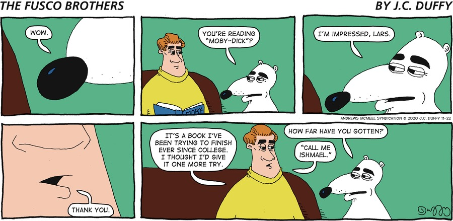 The Fusco Brothers Comic Strip for November 22, 2020