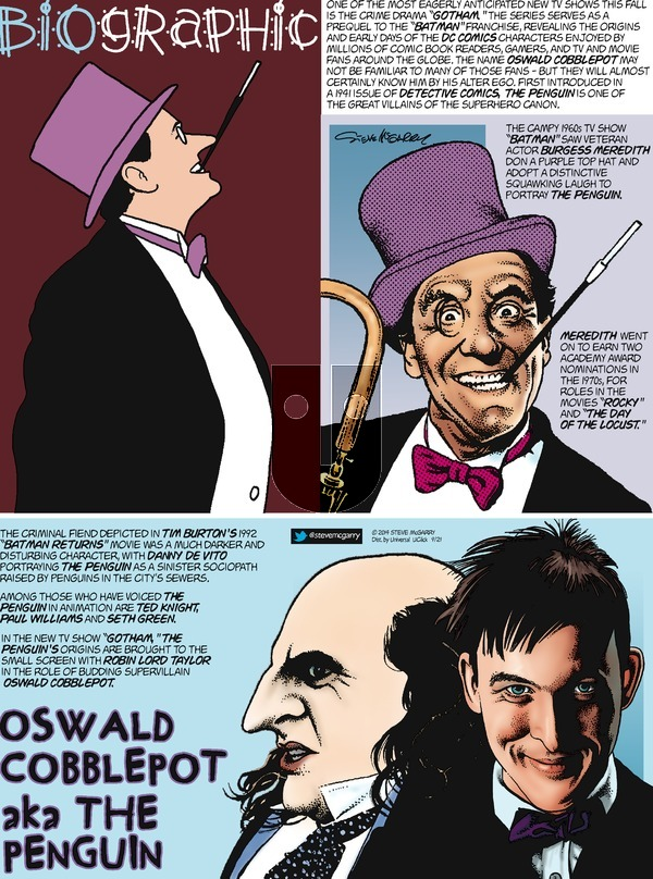 Biographic on Sunday September 21, 2014 Comic Strip