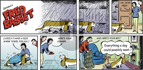 Fred Basset on Sunday May 5, 2019 Comic Strip