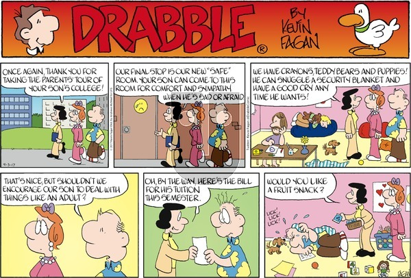 Drabble on Sunday September 3, 2017 Comic Strip