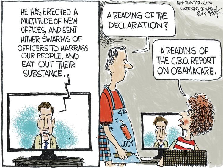 Chip Bok for Jul 1, 2013 Comic Strip