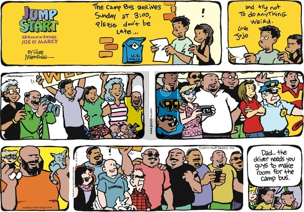 JumpStart on Sunday August 27, 2017 Comic Strip