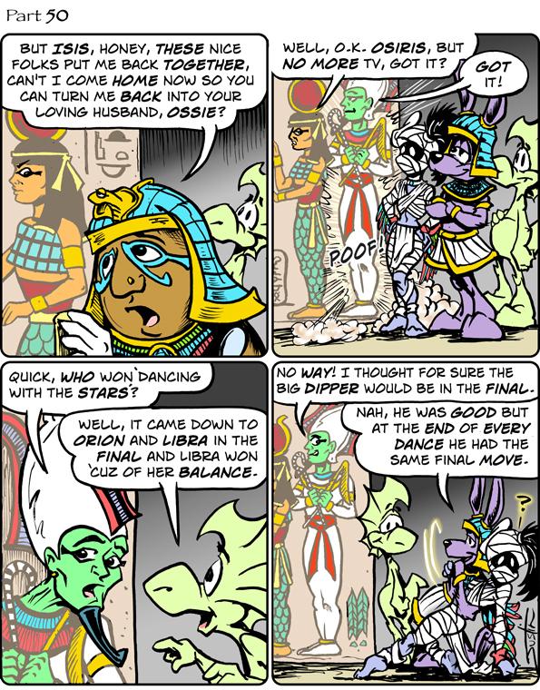 MythTickle Comic Strip for September 15, 2021