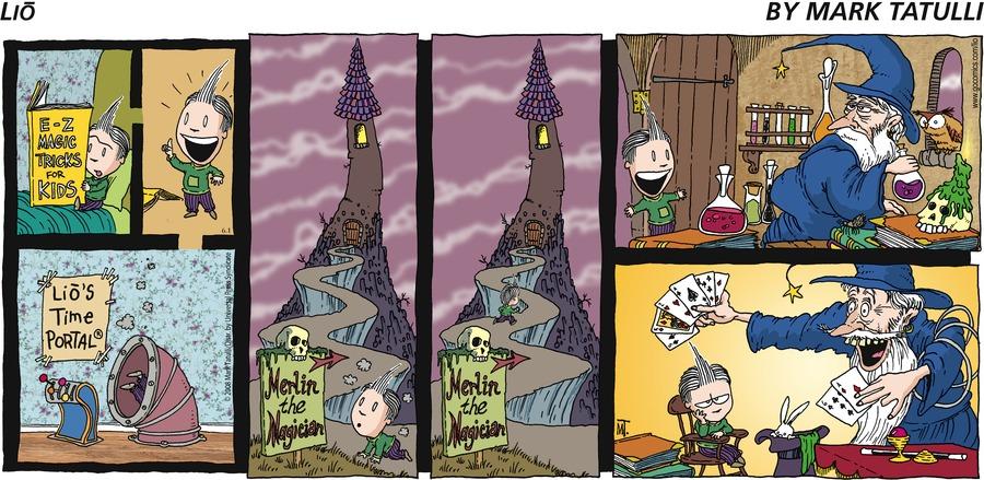 Lio by Mark Tatulli E-Z Magic Tricks For Kids Lio's Time Portal Merlin the Magician Merlin the Magician