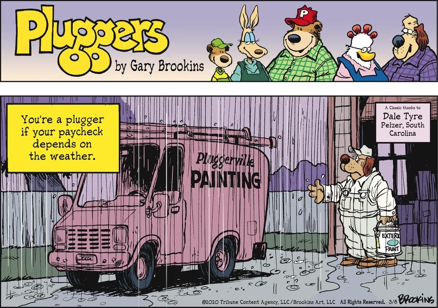 Pluggers by Gary Brookins on Sun, 08 Mar 2020