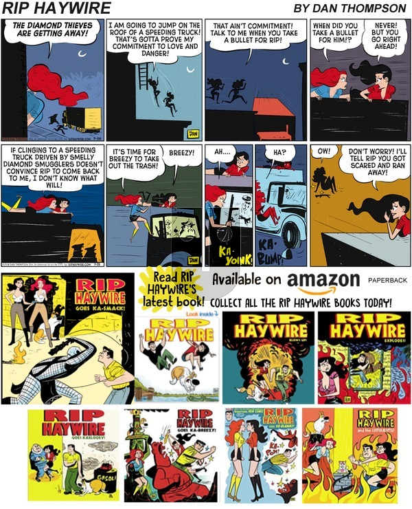 Rip Haywire on Sunday July 7, 2019 Comic Strip