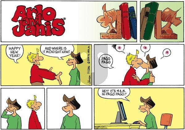 Arlo and Janis on Sunday January 1, 2006 Comic Strip