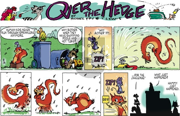 Over the Hedge on Sunday August 19, 2018 Comic Strip
