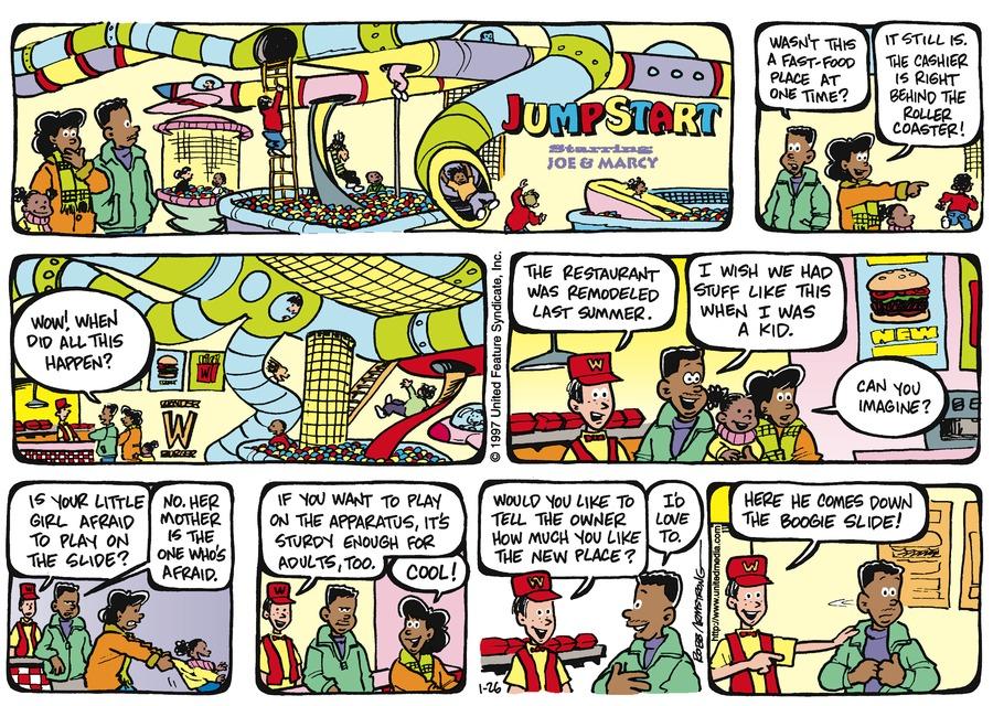 JumpStart for Jan 26, 1997 Comic Strip